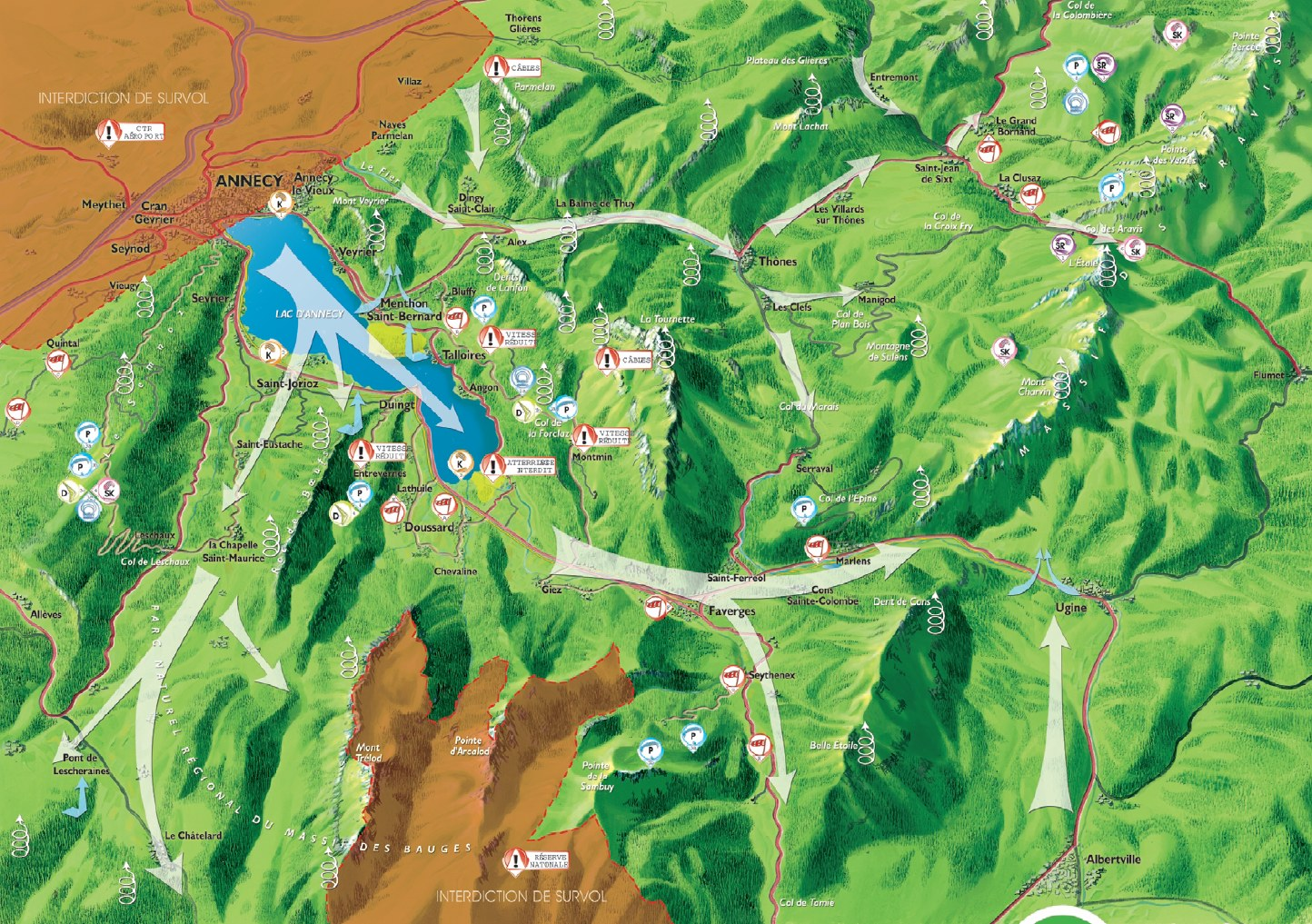 Ullis Paragliding Annecy Tips