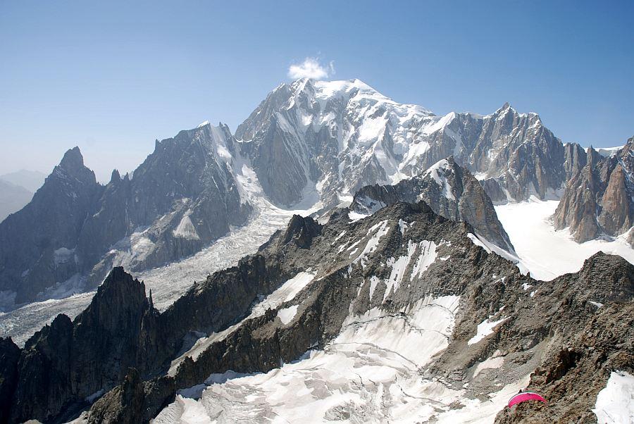 uitzicht mont blanc